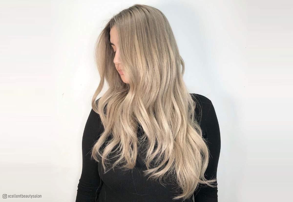 Ash Blonde Hair Tan Skin