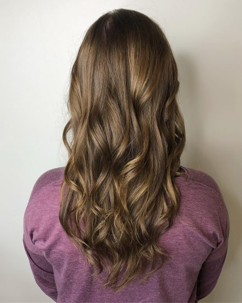 15 Perfect Examples Of Lowlights For Brown Hair 2021 Looks