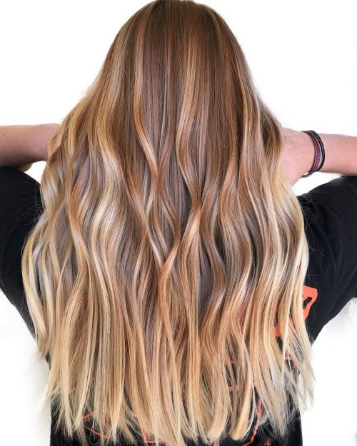 34 light brown hair colors that are blowing up in 2019 - Ombre braun blond ...