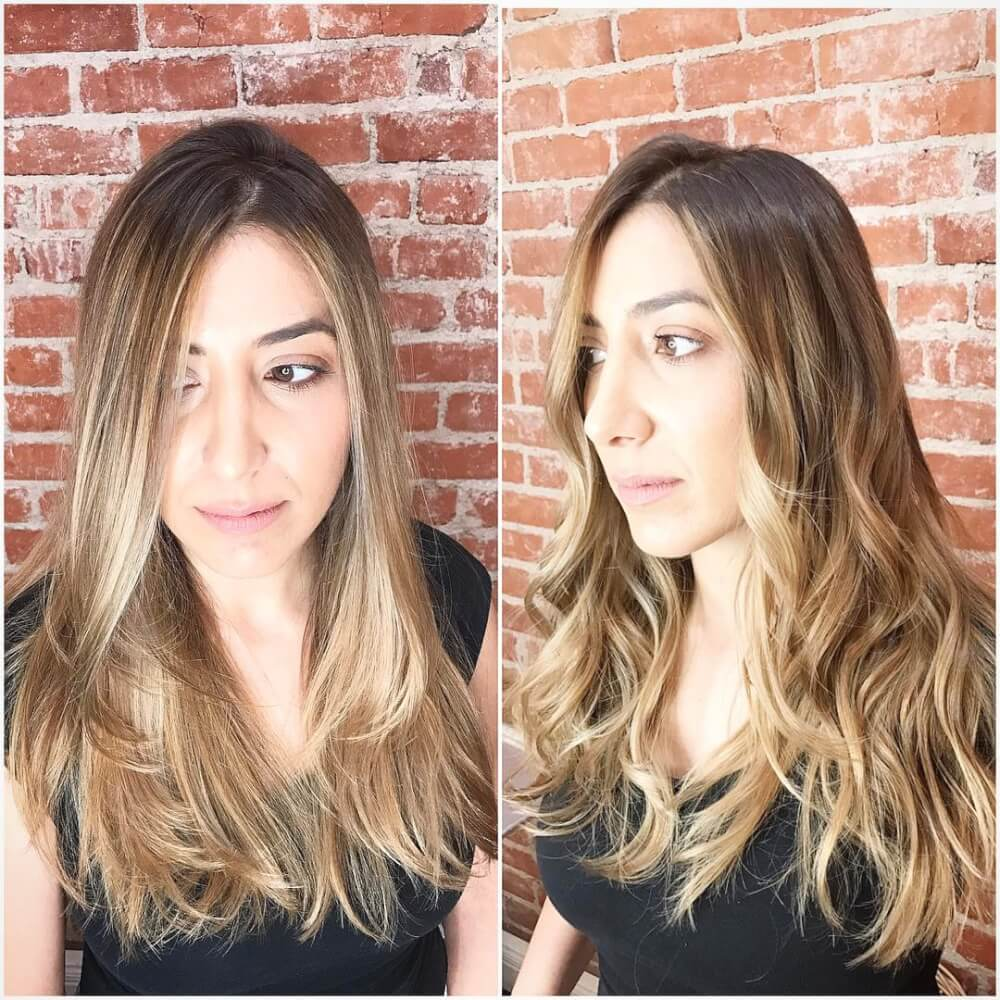Color Melt Balayage hairstyle