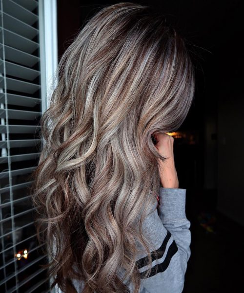 14 Prettiest Light Brown Hair With Highlights For 2019