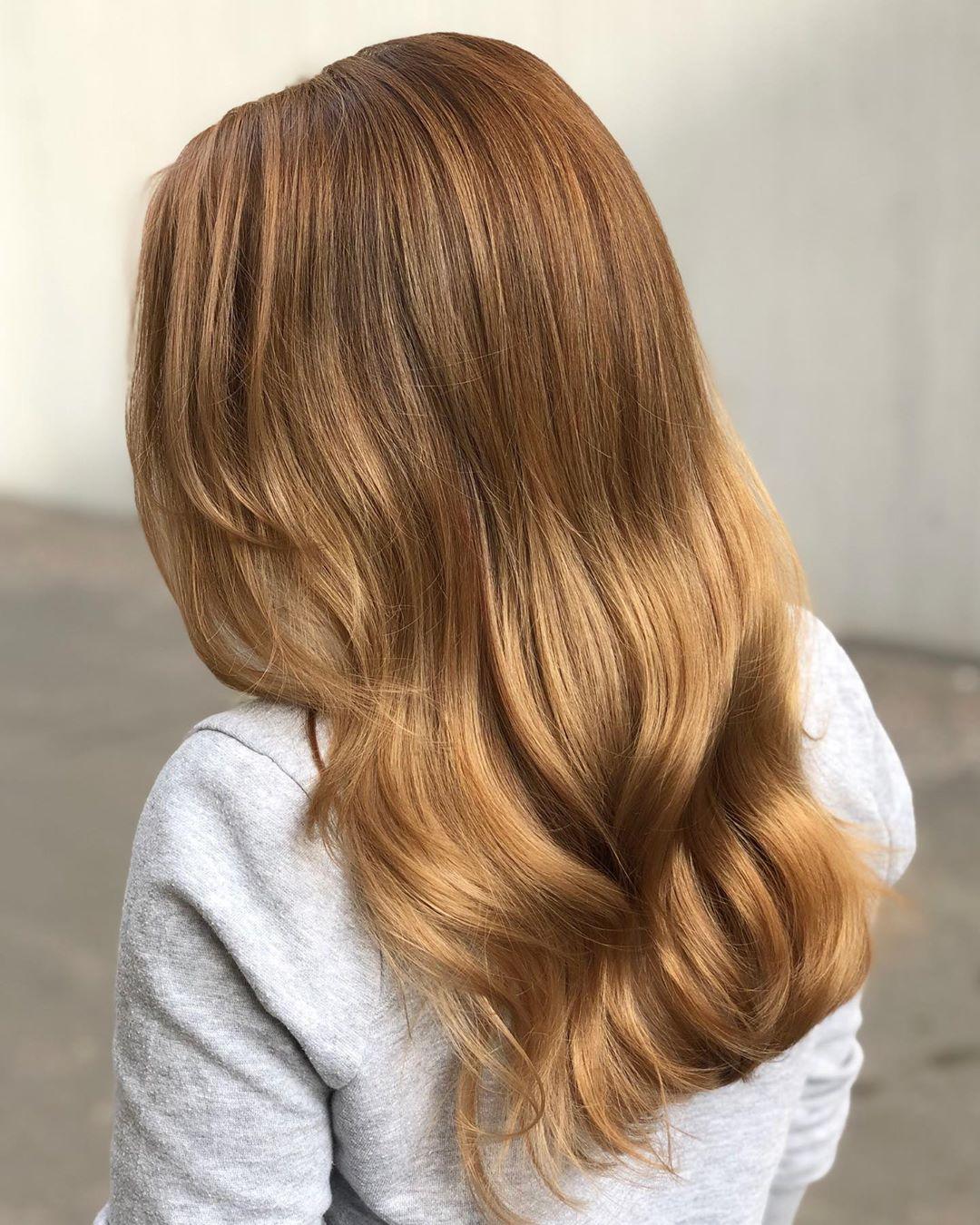 Light Golden Brown on Natural Hair