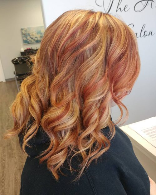 19 Best Red And Blonde Hair Color Ideas Of 2020