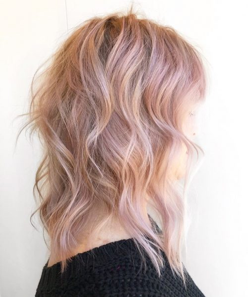 Top 17 Rose Gold Hair Color Ideas Trending In 2019