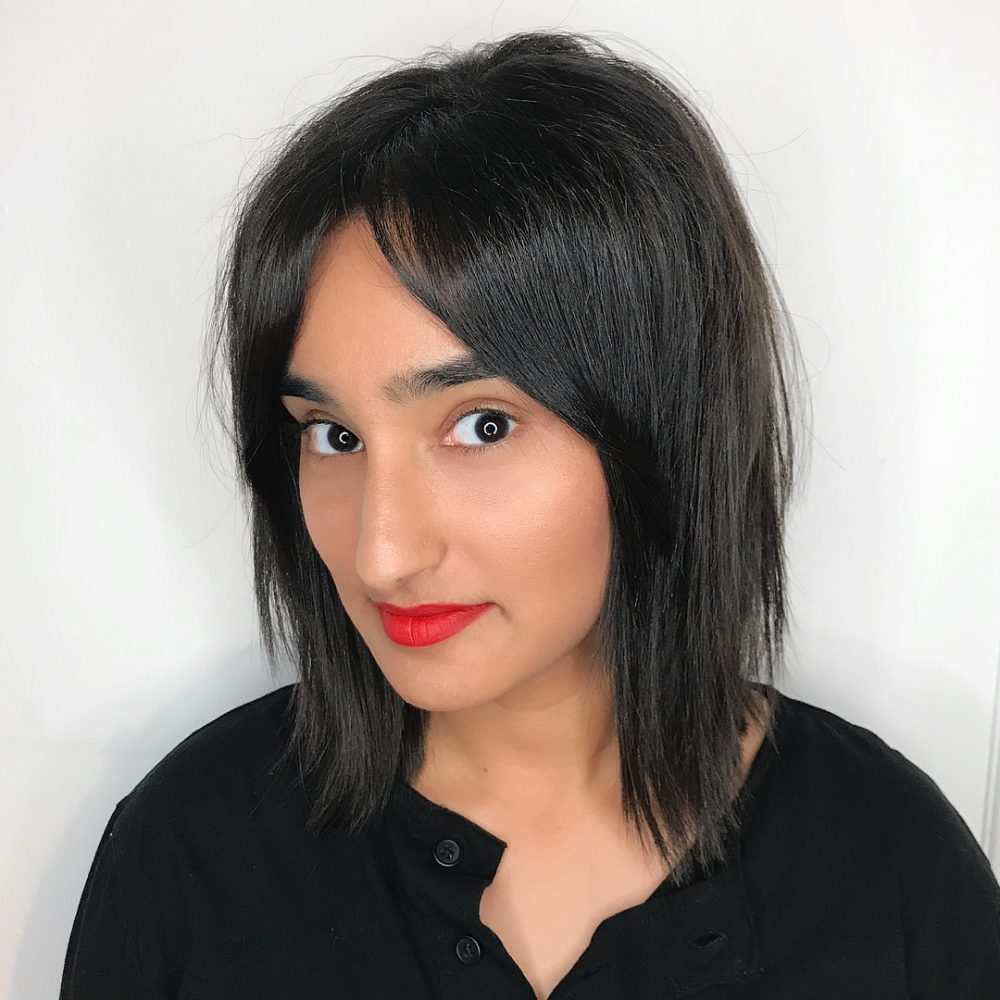 Lightly Textured Bob hairstyle