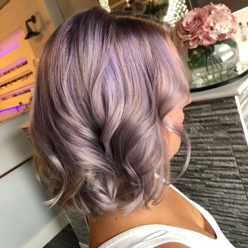 17 Shockingly Pretty Lilac Hair Color Ideas In 2020