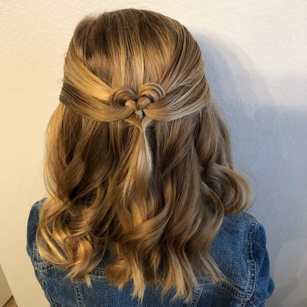 Perfect Little Love Hairstyle
