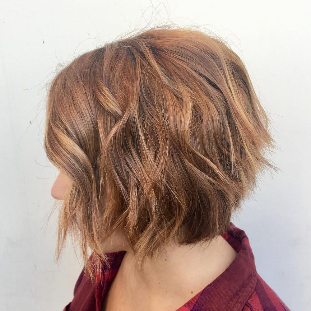 Lived-In Choppy Bob hairstyle