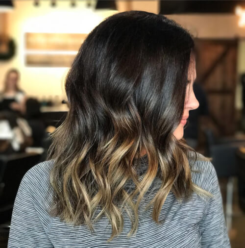 lived in feel balayage hair color