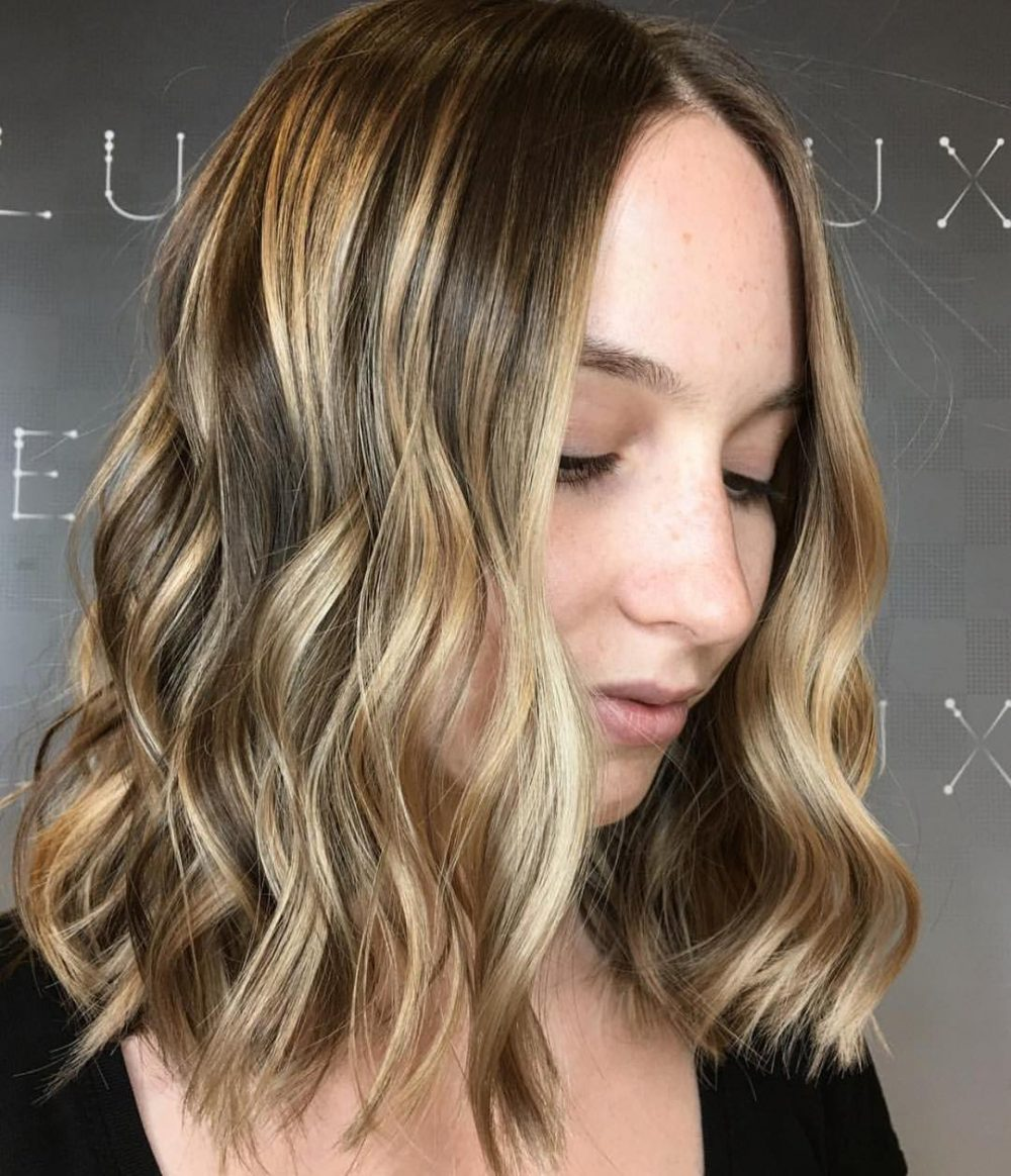 Lived-In Look hairstyle