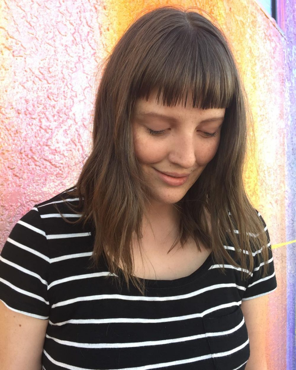 choppy haircut with bangs 23 chic choppy bangs for that are popular for 2018 6011