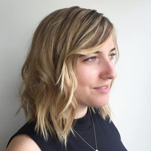 22 Long Bob With Bangs To Try Styling In 2020
