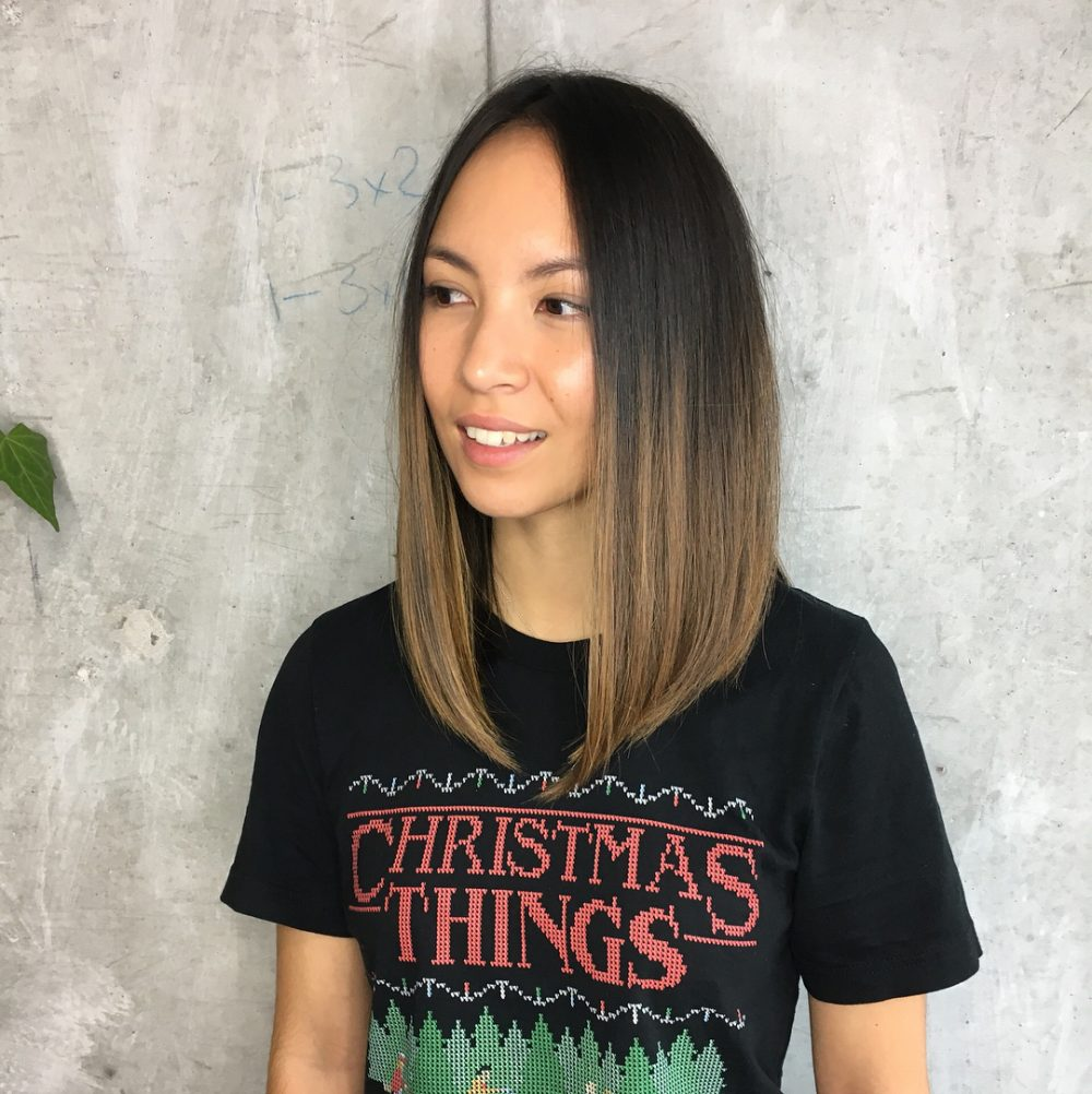 Long A-Line Bob hairstyle