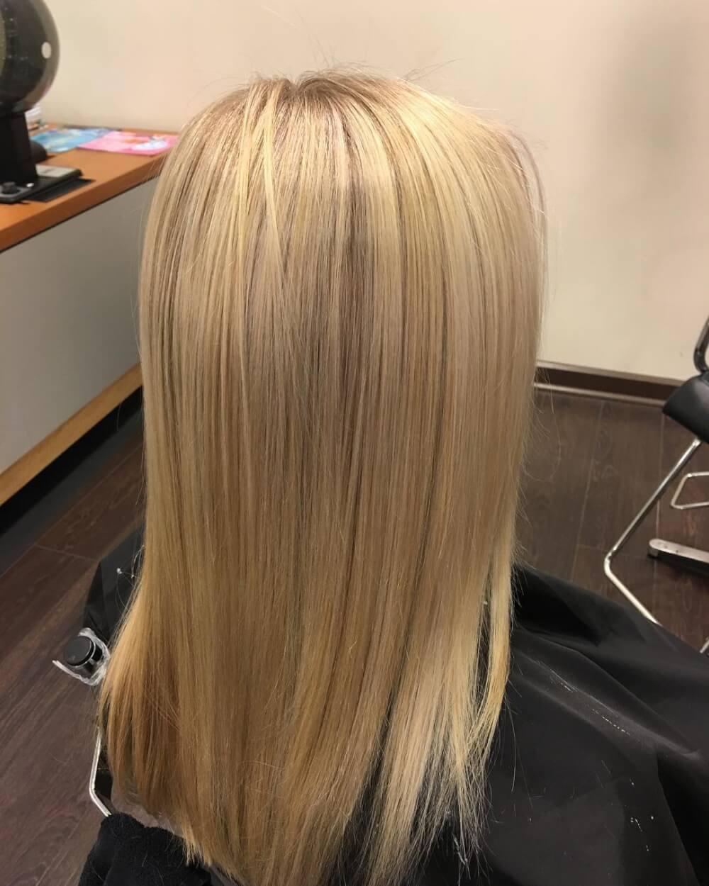 Summer Blonde hairstyle
