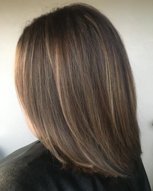 long bob soft layers
