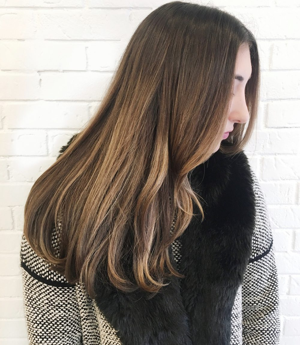 Long Bronde Layers hairstyle