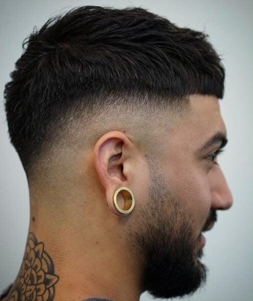 14 Best Caesar Haircut Ideas For Guys
