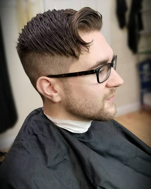 15 Best Comb Over Haircuts for Men in 2019 , Classic +