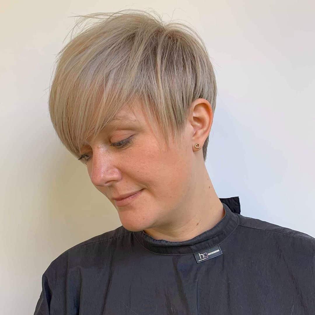 Duendecillo largo para adelgazar el cabello