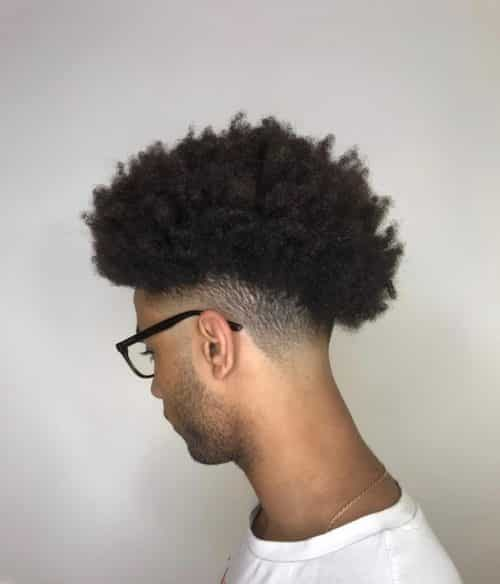 17 Best Curly Hair Fade Haircuts For Guys In 2020