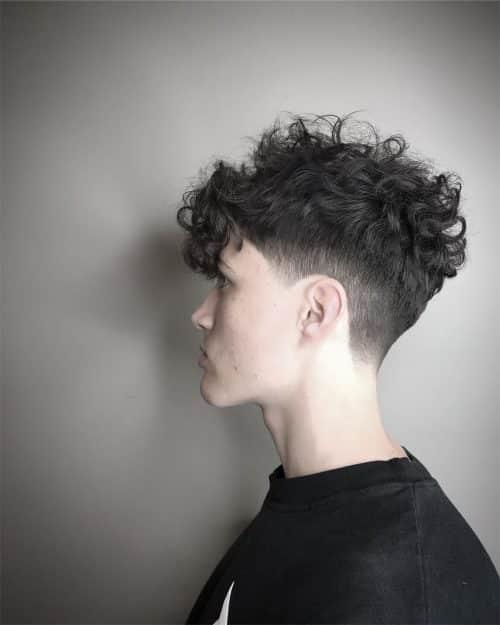 Long Taper Haircut Curly Hair 11