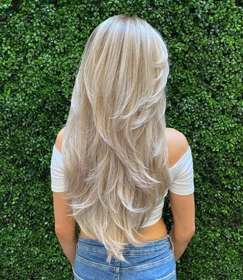 fácil de peinar el cabello largo