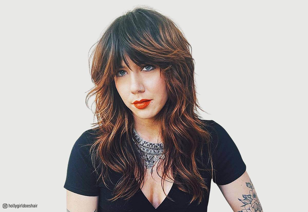 Layered Hairstyles With Bangs 2019 23