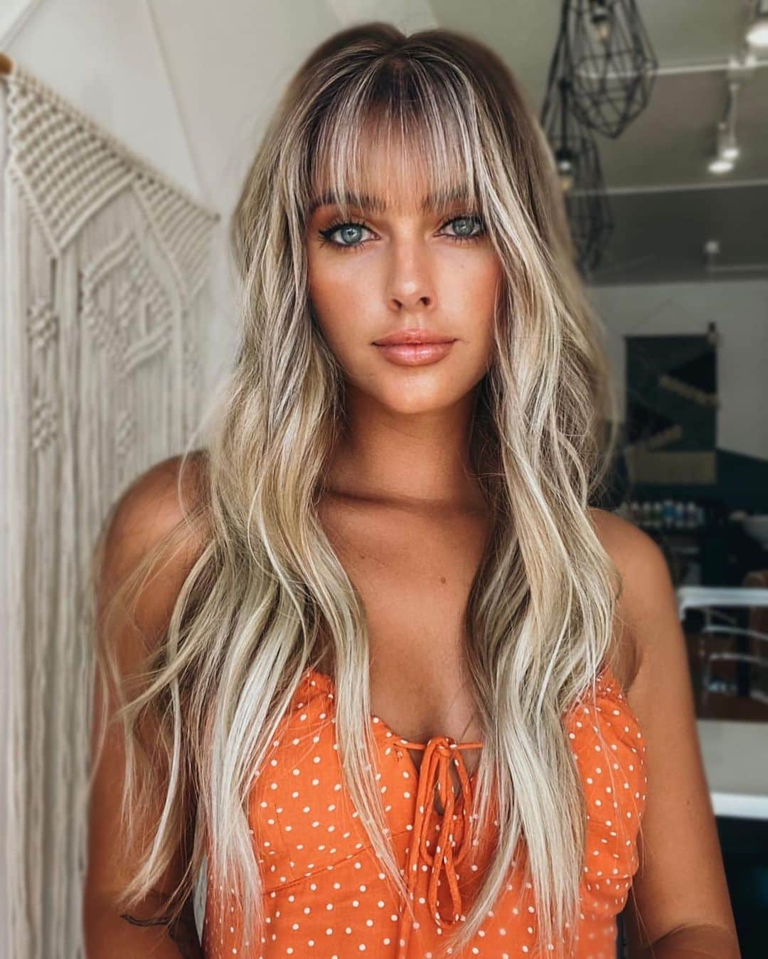 Long Hair With Bangs 18 Best Examples for 18