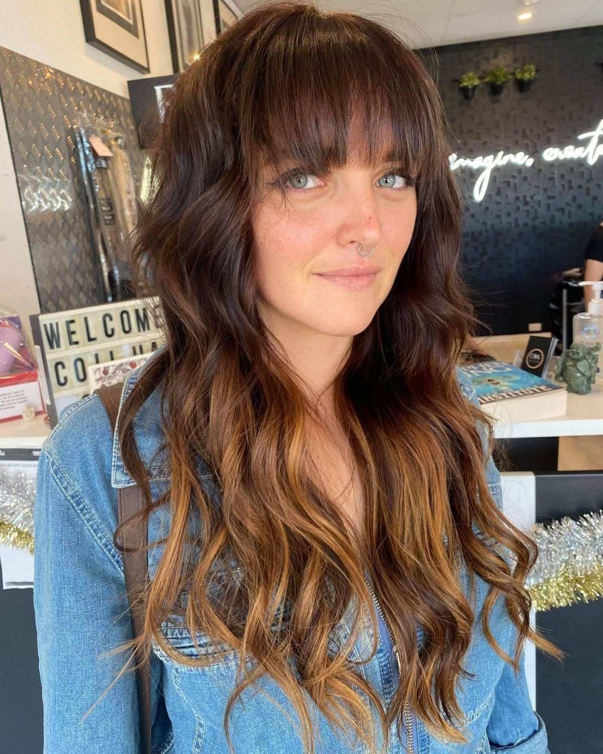 Long Hair With Bangs 38 Best Examples For 2021