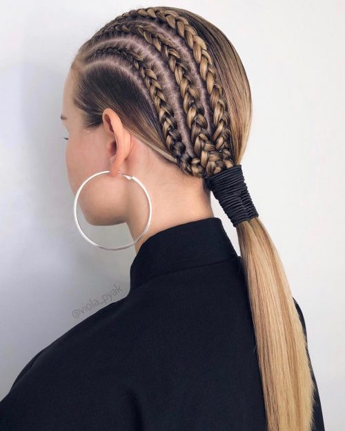 long hairstyle great for work and play