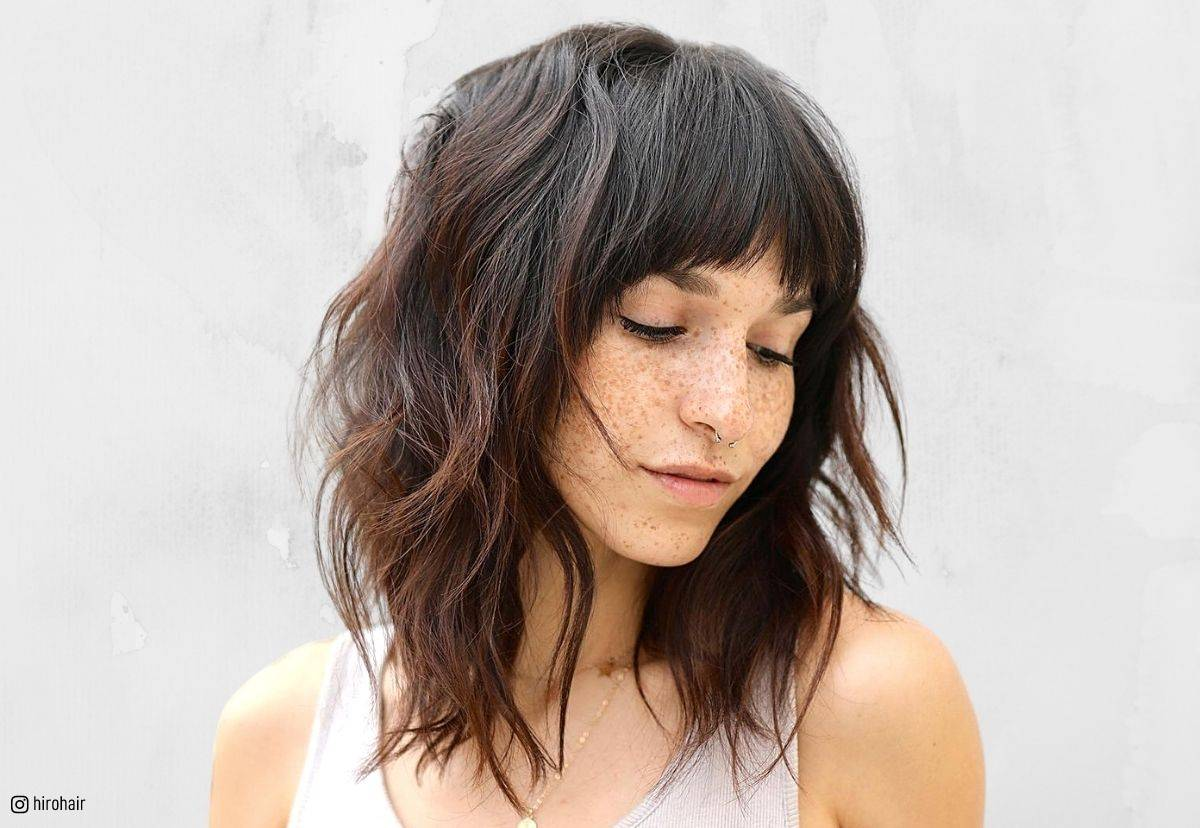 21 Best Long Layered Bob Lob