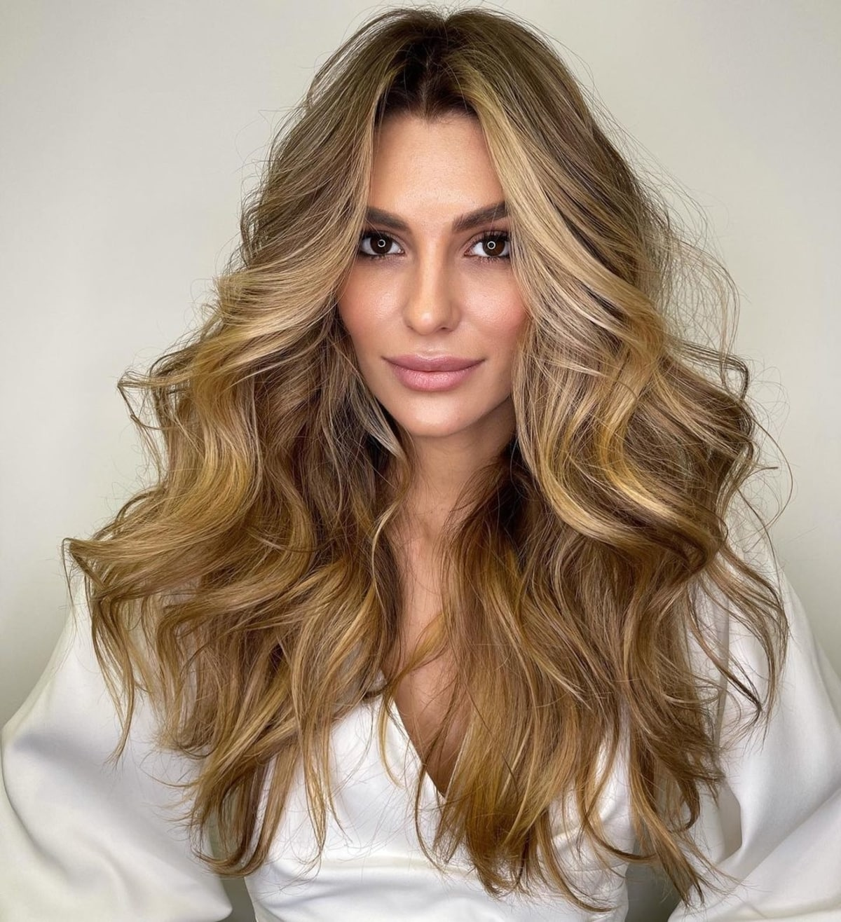 12 Flattering Middle Part Hairstyles Trending for 2012