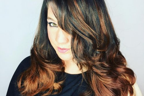 Long Layered Haircut With Balayage Color