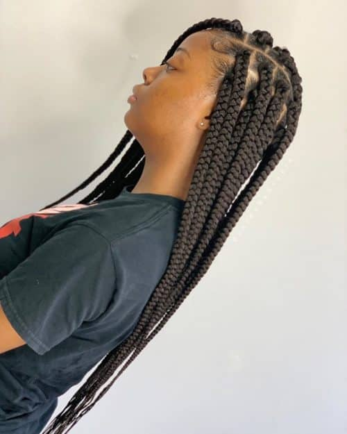 13 Best Long Box Braids Hairstyles For 2019