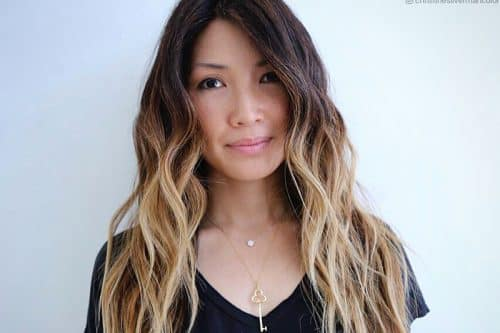 Long ombre hair colors