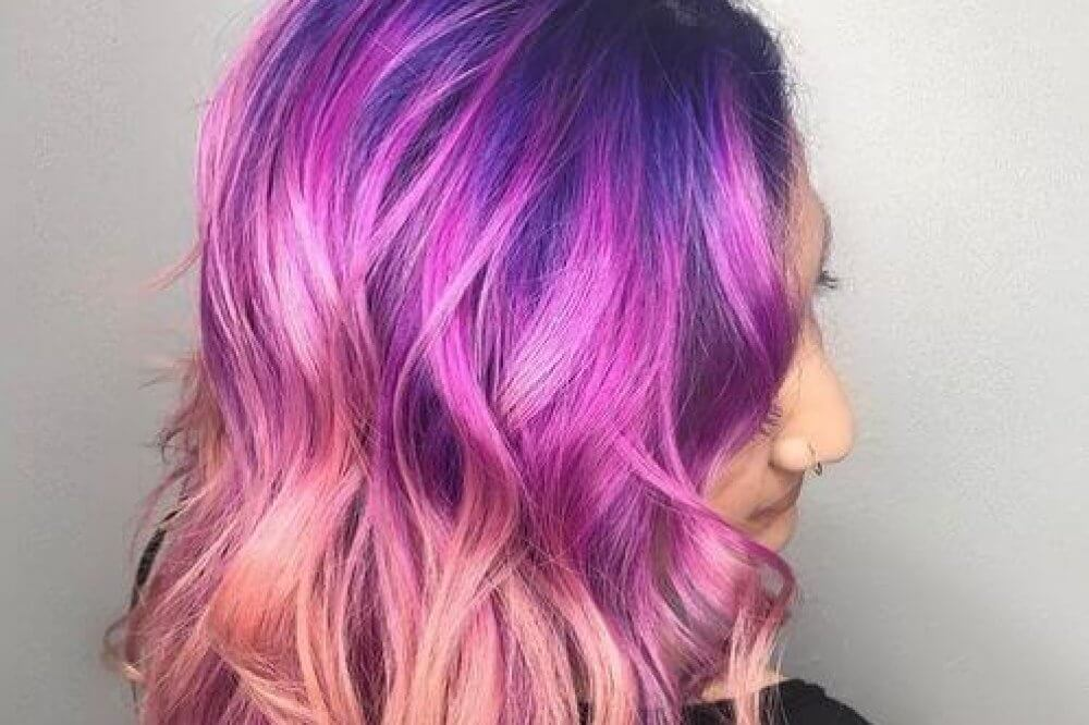 23 best platinum blonde hair colors and highlights for 2018 purple hair color ideas pmusecretfo Choice Image