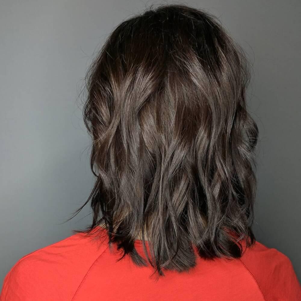 Undone Bob hairstyle