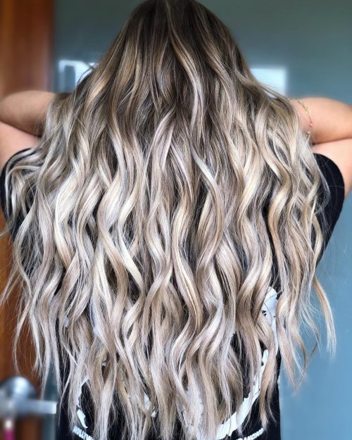 Light Ash Brown Hair Curly