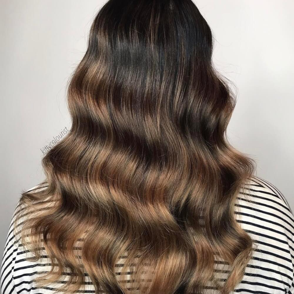 Toffee Tones hairstyle