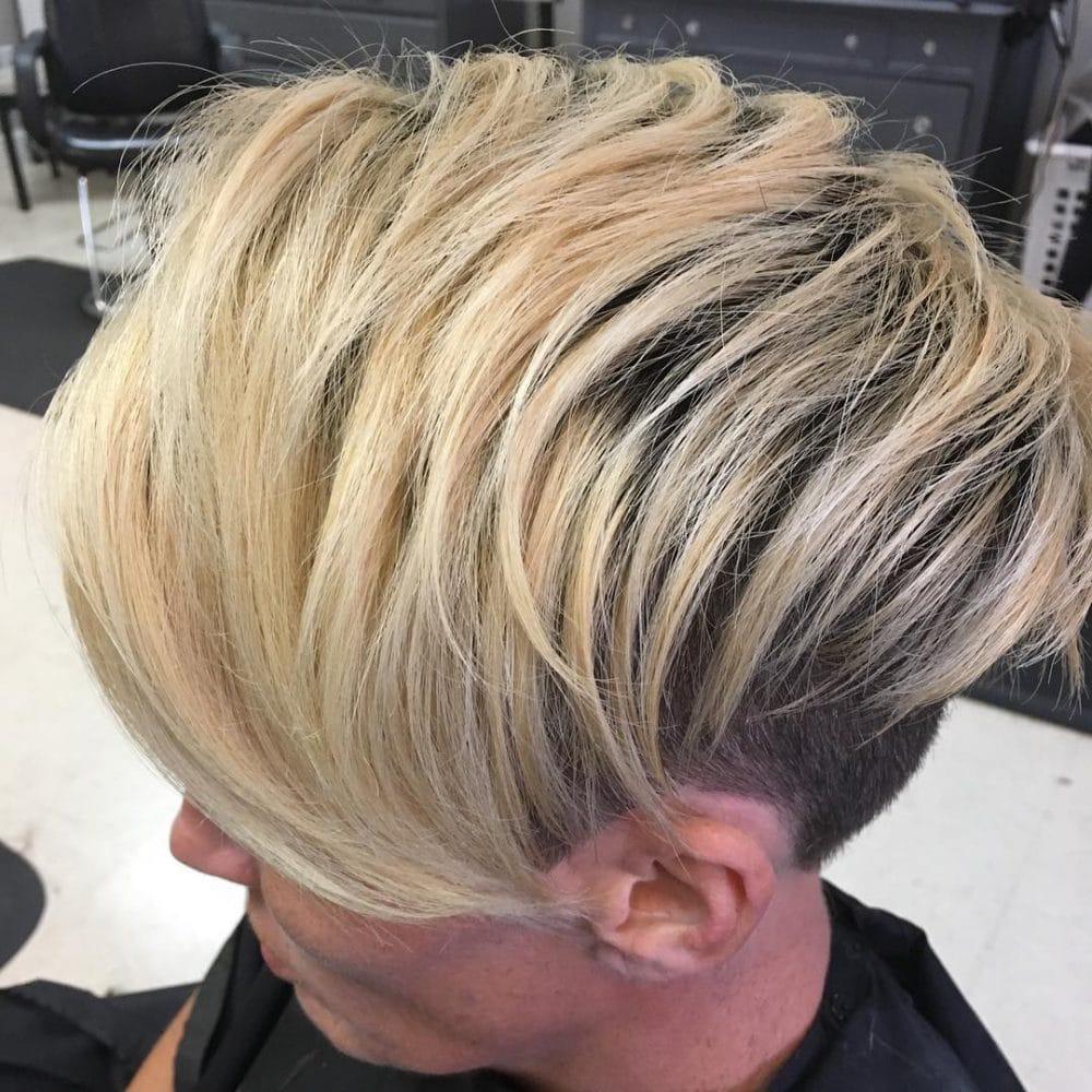 Long Undercut Pixie hairstyle