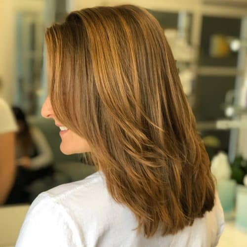 29 Hottest Medium Length Layered Haircuts Hairstyles