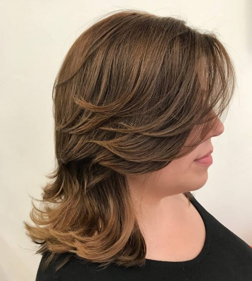 51 Stunning Medium Layered Haircuts Updated For 2019