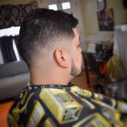 low fade haircut for men