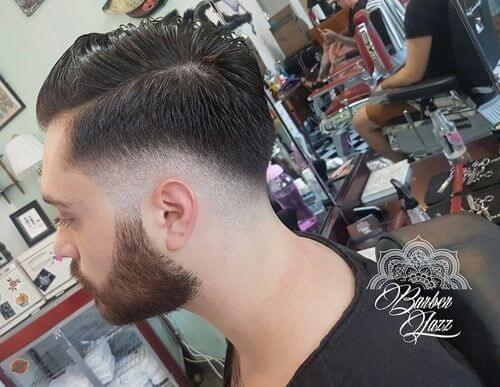 low fade for mens hair