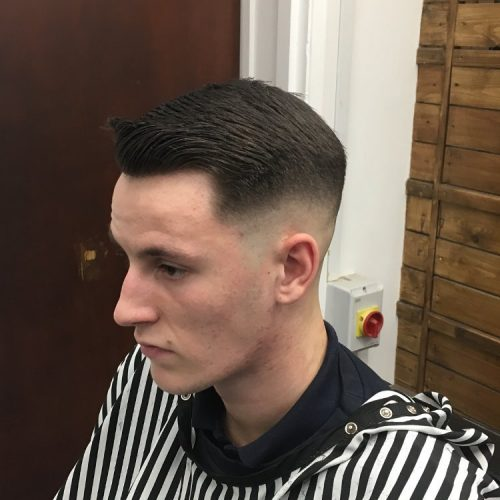 Picture of a low skin taper fade