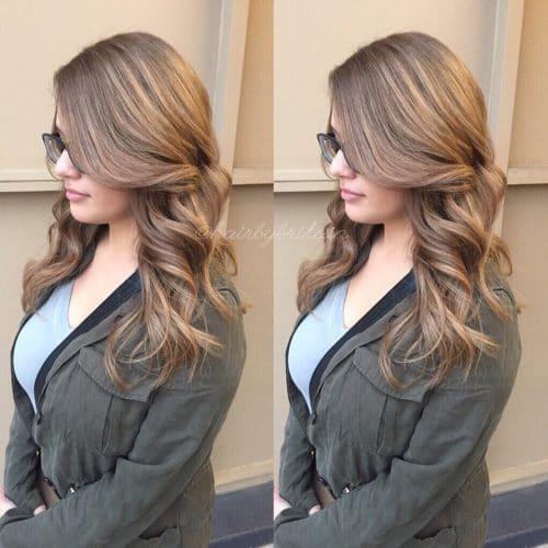 Low Maintenance Dark Blonde hairstyle