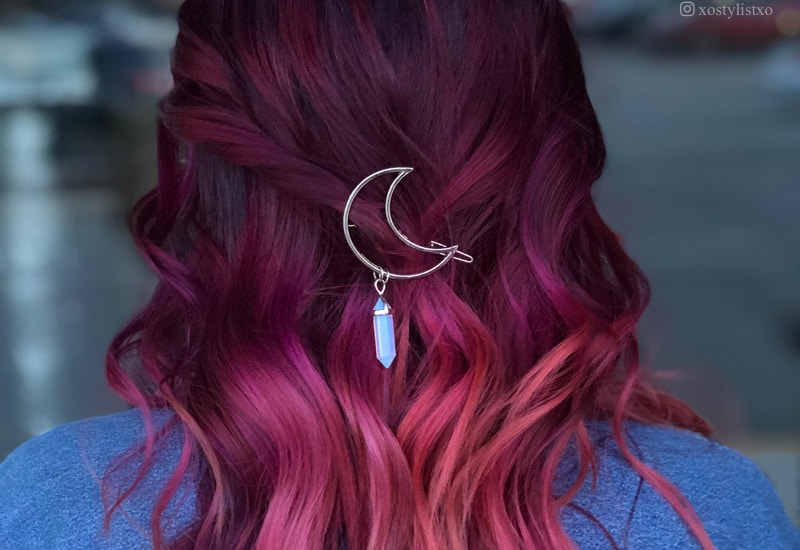 Red And Black Hair Dye Styles: 15 Best Maroon Hair Color Ideas Of 2019