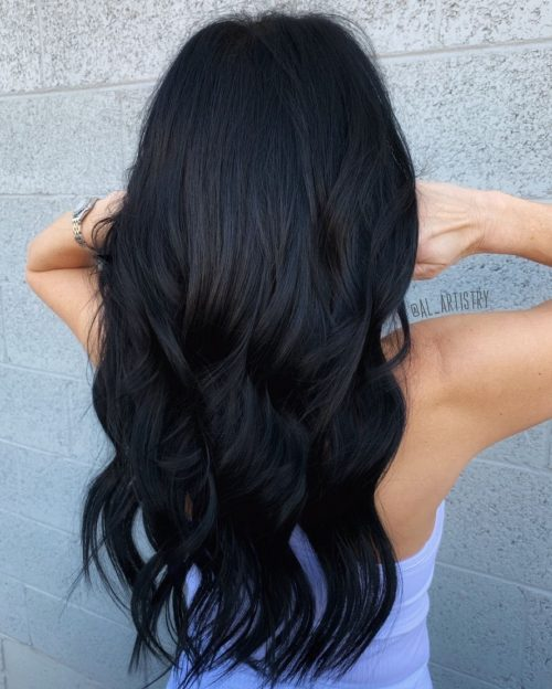 23 Flattering Dark Hair Colors For Every Skin Tone