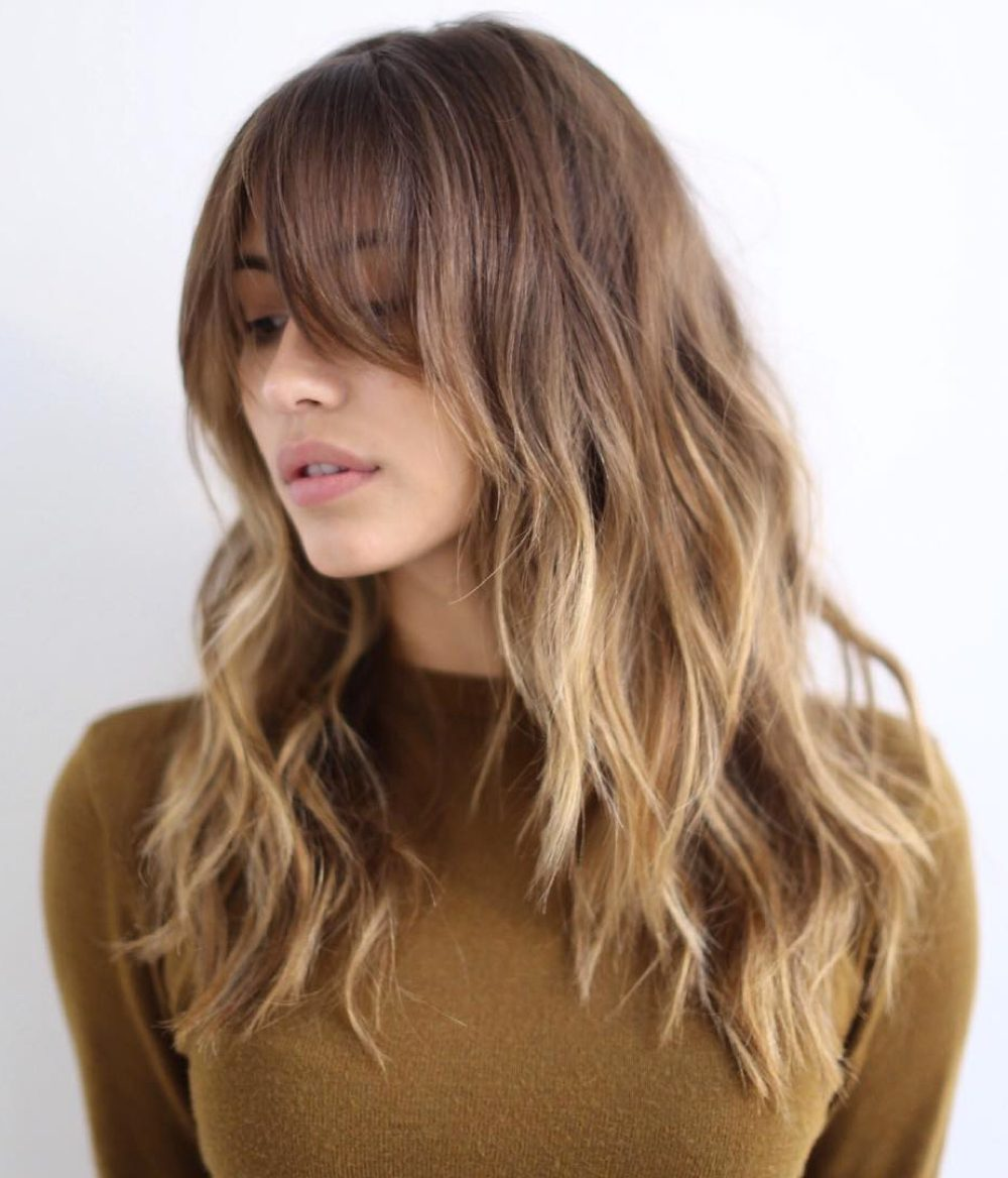 53 Popular Medium Length Hairstyles With Bangs Updated