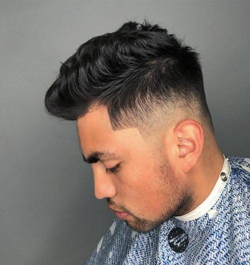 Drop Fade Cool Haircuts For Men 96